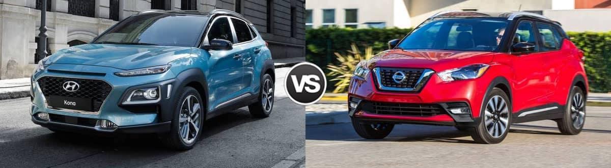 2020 Hyundai Kona vs. 2020 Nissan Kicks