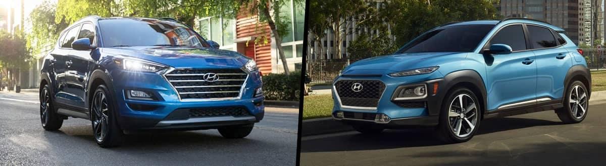 2021 Hyundai Tucson vs. 2021 Hyundai Kona