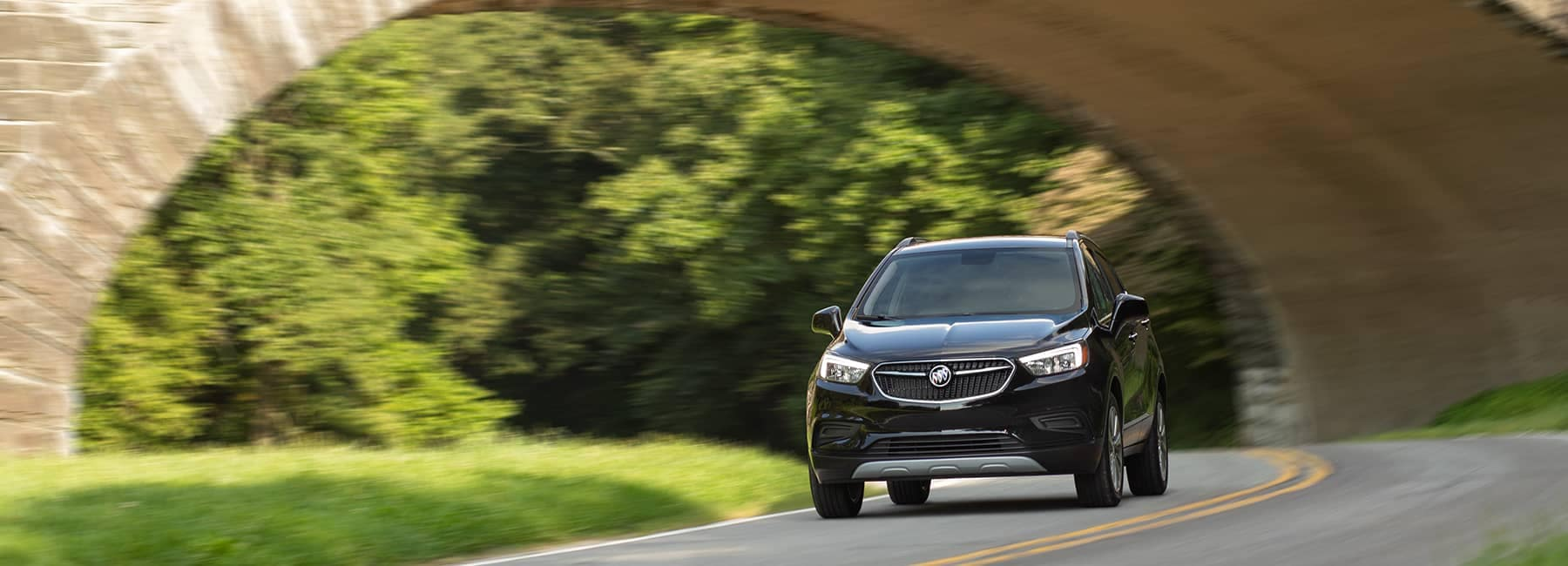 2020 Buick Encore Under a Bridge