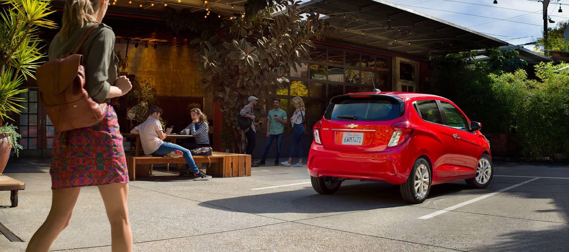 An exterior shot of a Chevrolet Bolt