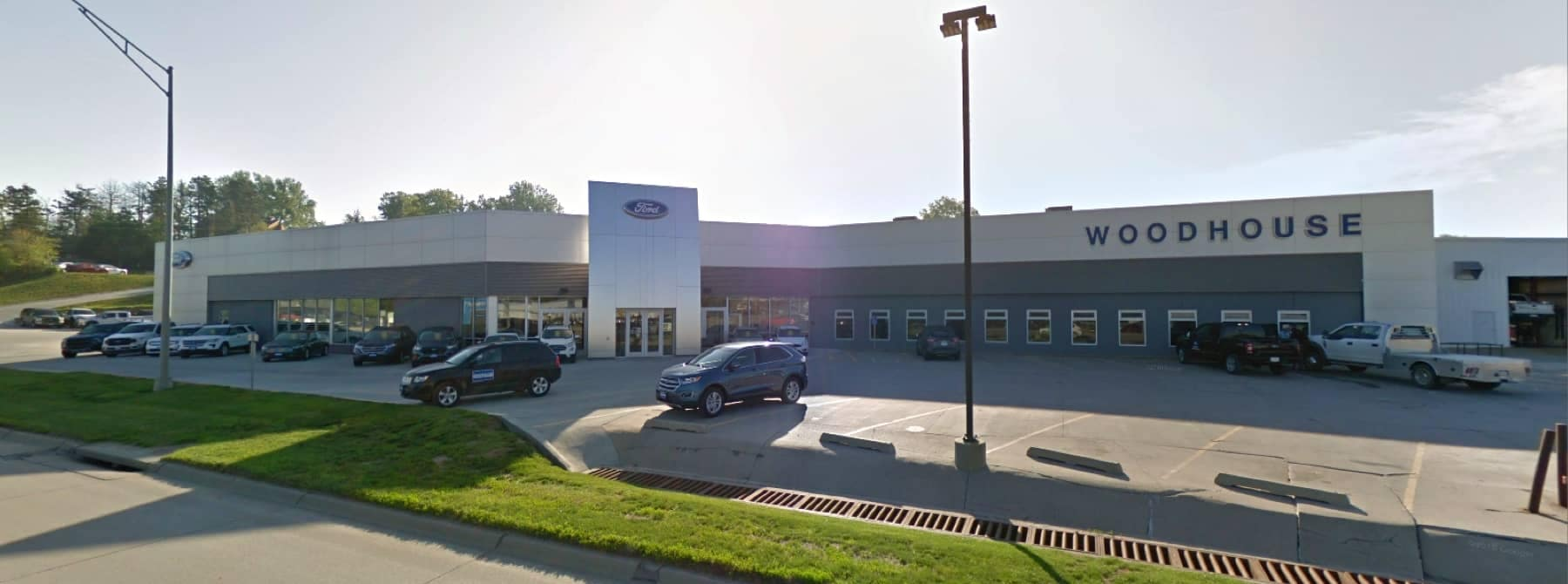 Woodhouse Ford of Blair outside the dealership