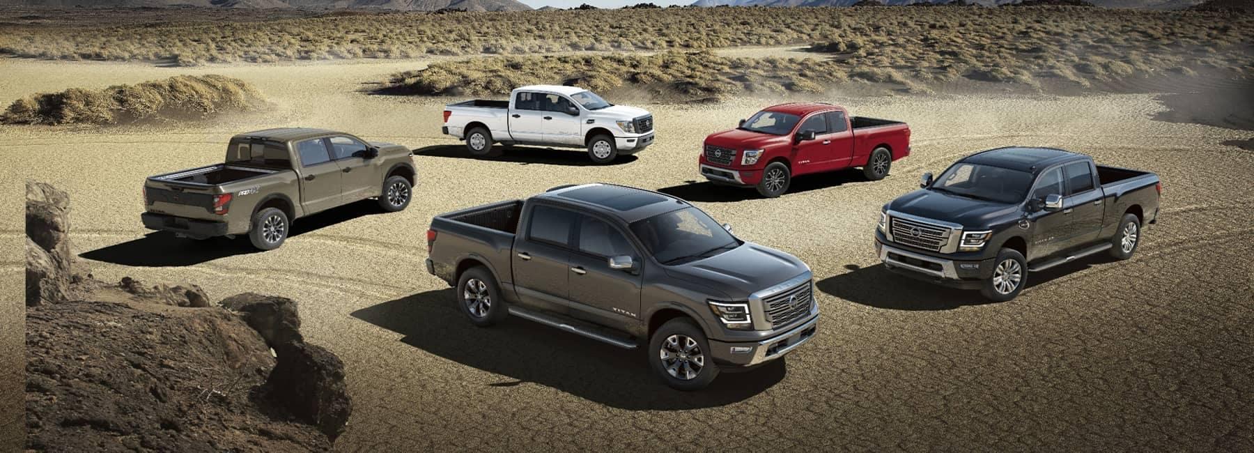 2021 Nissan Lineup of Pickup Trucks