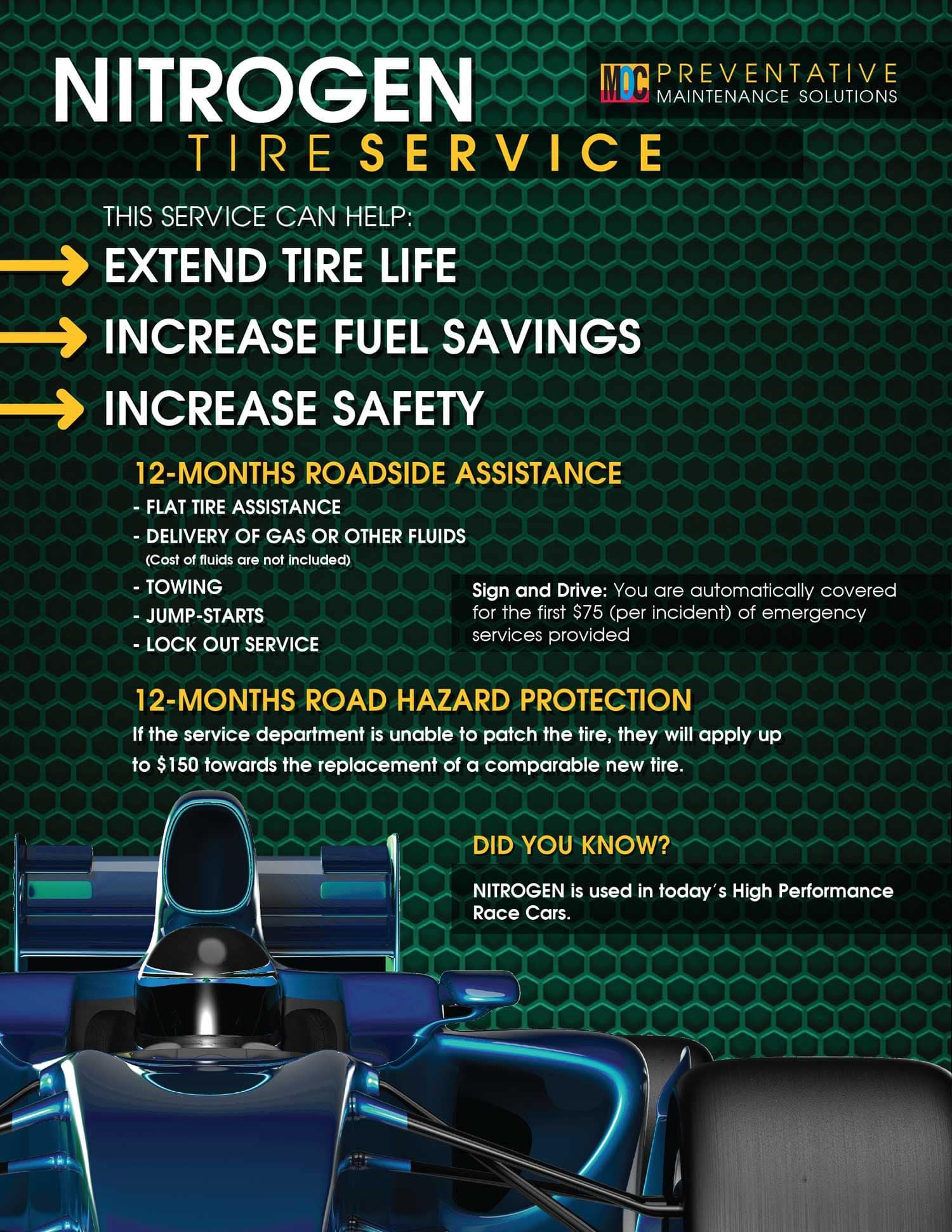 Nitrogen-Tire-Service