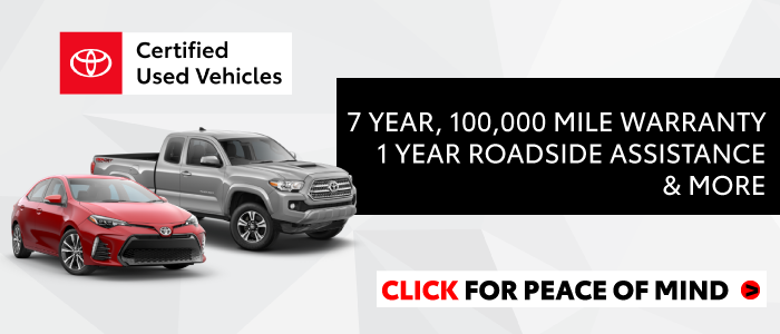 Certified Pre Owned Cars Near Me >> 34 Certified Pre Owned Toyotas In Stock Yokem Toyota