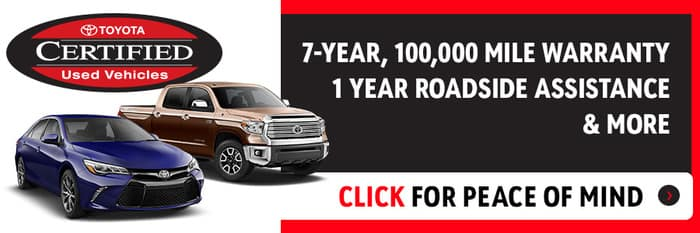 38 Certified Pre Owned Toyotas In Stock Yokem Toyota